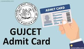 #GUJCET Hall Ticket 2019