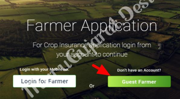 PMFBY Farmer Registration Link