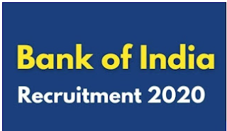 Bank of India Officers Recruitment 2020